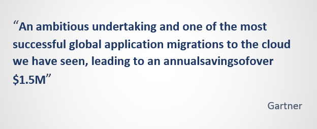 Cloud Migration Engagement by Fyrsoft